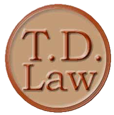 Tony Delas Law Logo